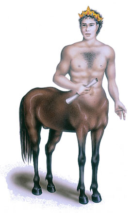 King Kiron of the Centaurs