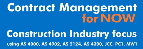 Contract Management Training for NOW AS 4000